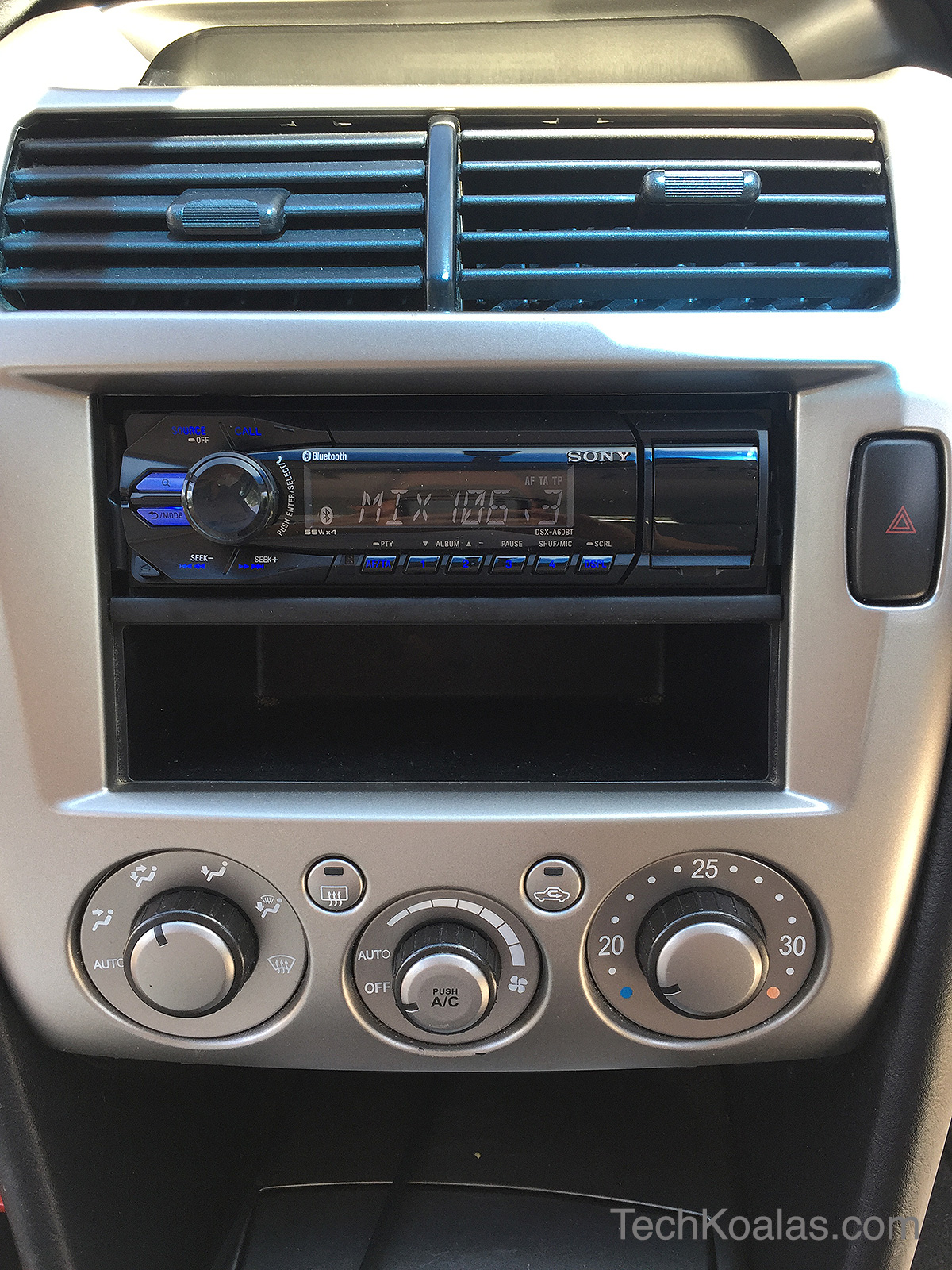 Photo of How to install a new in-car digital player with bluetooth in a Mitsubishi Magna ES TL