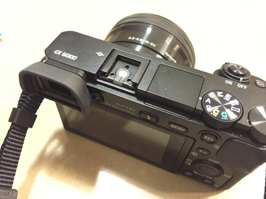 4 Hot shoe cover cap for Sony Alpha 6000 10