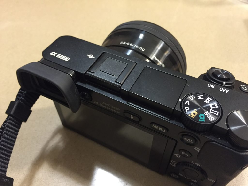 6 Hot shoe cover cap for Sony Alpha 6000 09