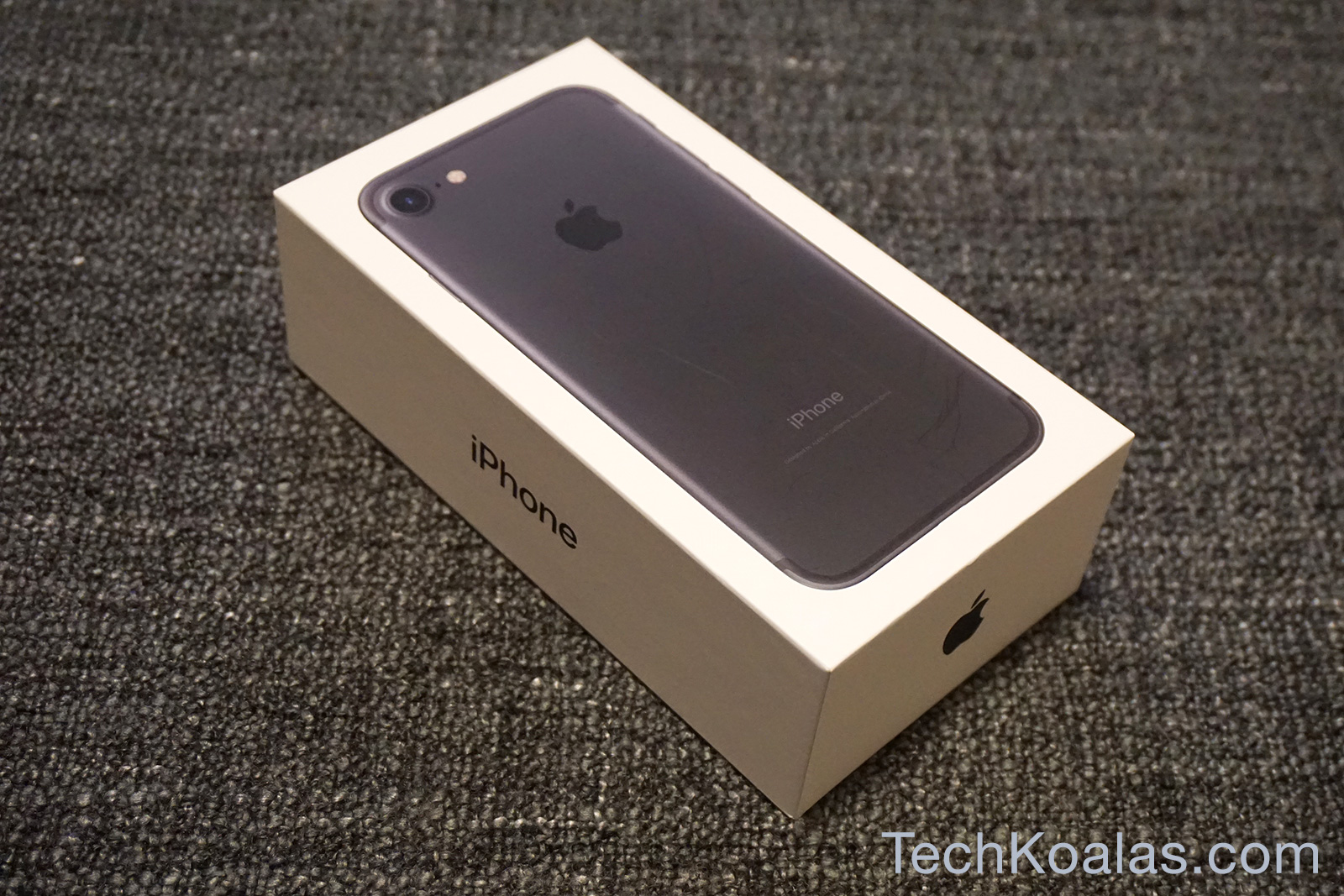 Apple Iphone 7 Whats In The Box Techkoalas Plus 256gb Inter 01
