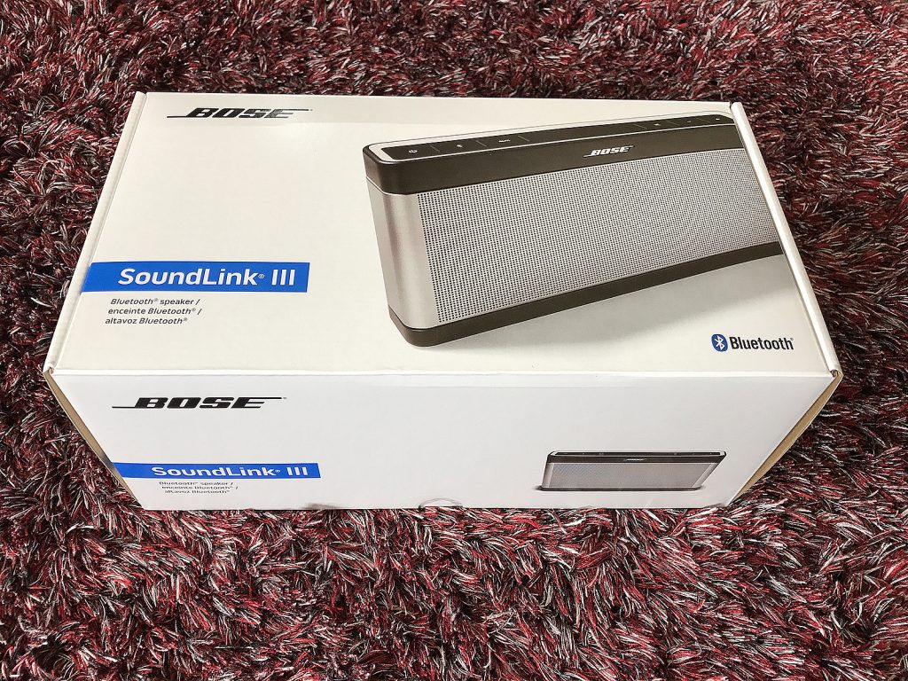 Bose SoundLink Bluetooth Speaker III Unboxing