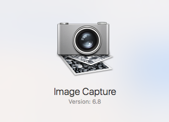 Apple Image Capture 6.8