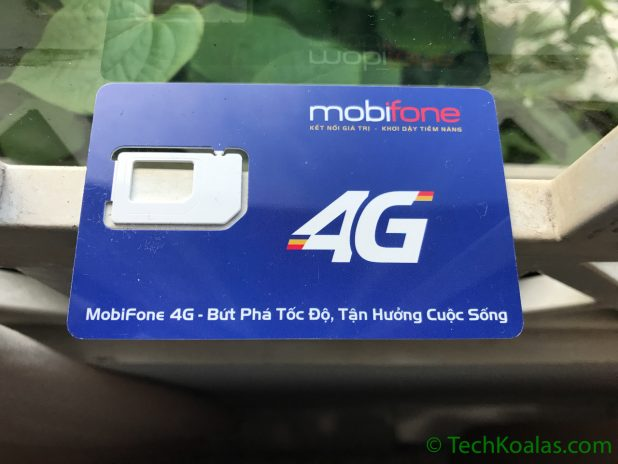 Vietnam mobifone 4G Sim Card