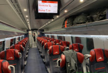 Photo of Where to Store Luggage on an Italo Treno Italian High Speed Train