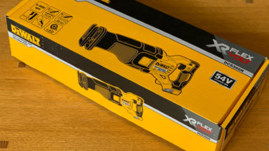 Photo of Dewalt 54V Cordless Brushless Reciprocating Saw DCS388N – Packaging and Unboxing
